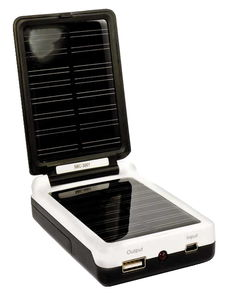 Solar battery charger BC