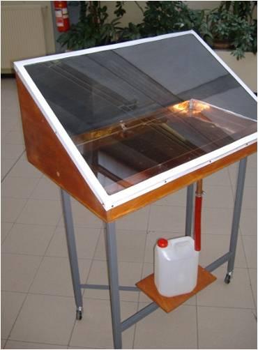 Solar still water
