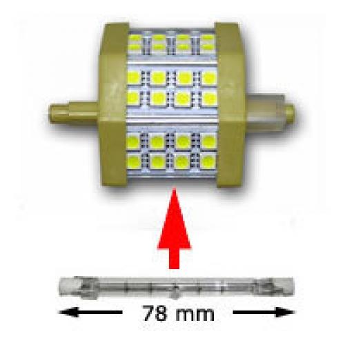 Lampadina led 5w per lampade alogene for Lampade a led 220v
