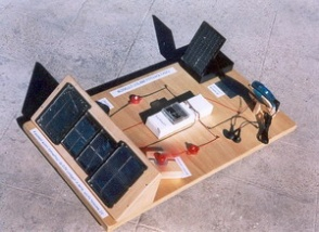 Experimental model solar photovoltaic